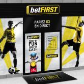 betFIRST Devanture paris sportifs illustration agence